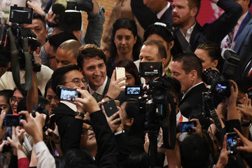 Justin Trudeau 31st Southeast Asian Nations (ASEAN) Summit in the Philipppines
