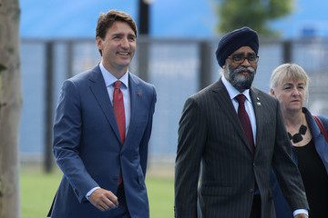 Justin Trudeau World Leaders Meet For NATO Summit In Brussels