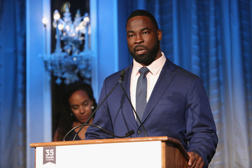 Justin Tuck The 'I Have A Dream' Foundation 35th Anniversary Spirit Of The Dream Gala