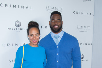 Justin Tuck 'Criminal' New York Premiere