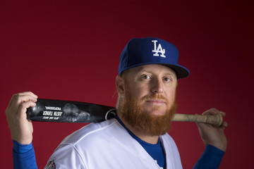 Justin Turner Los Angeles Dodgers Photo Day