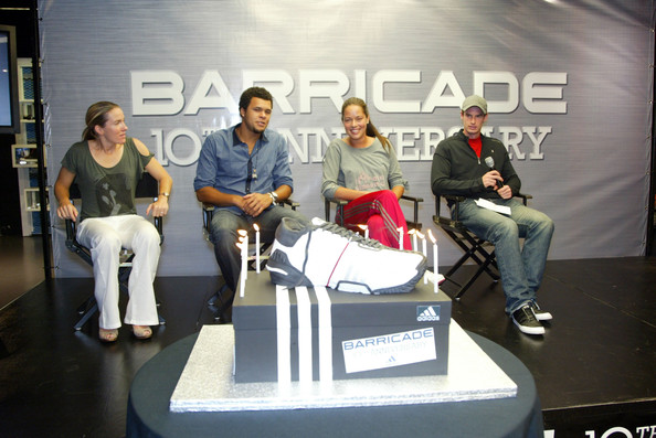 andy murray adidas. Justine Henin and Andy Murray