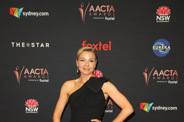 Justine Clarke 2019 AACTA Awards Presented by Foxtel | Red Carpet Arrivals