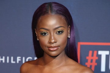 Justine Skye Tommy Hilfiger TOMMYNOW Fall 2017 - Front Row & Atmosphere