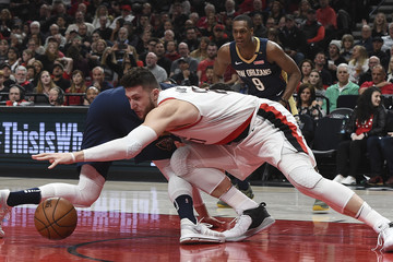 Jusuf Nurkic New Orleans Pelicans vs. Portland Trail Blazers - Game One