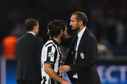 Andrea Pirlo and Giorgio Chiellini Photos Photo