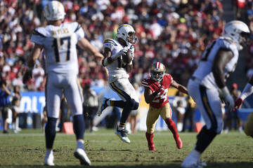 K'Waun Williams San Francisco 49ers v Los Angeles Chargers