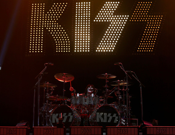 Eric Singer of KISS performs live on stage as part of their Monster Tour with Motley Crue and Thin Lizzy at Perth Arena on February 28, 2013 in Perth, Australia.