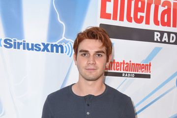 KJ Apa SiriusXM's Entertainment Weekly Radio Channel Broadcasts From Comic Con 2017 - Day 3