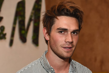 KJ Apa H&M Loves Coachella Tent at The Empire Polo Field