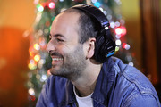 Eric Cannata of Young the Giant speaks during an interview at KROQ Absolut Almost Acoustic Christmas at The Forum on December 9, 2018 in Inglewood, California.