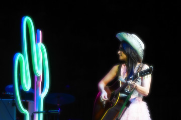 Kacey Musgraves Strait to Vegas - George Strait With Kacey Musgraves in Concert - April 23, 2016