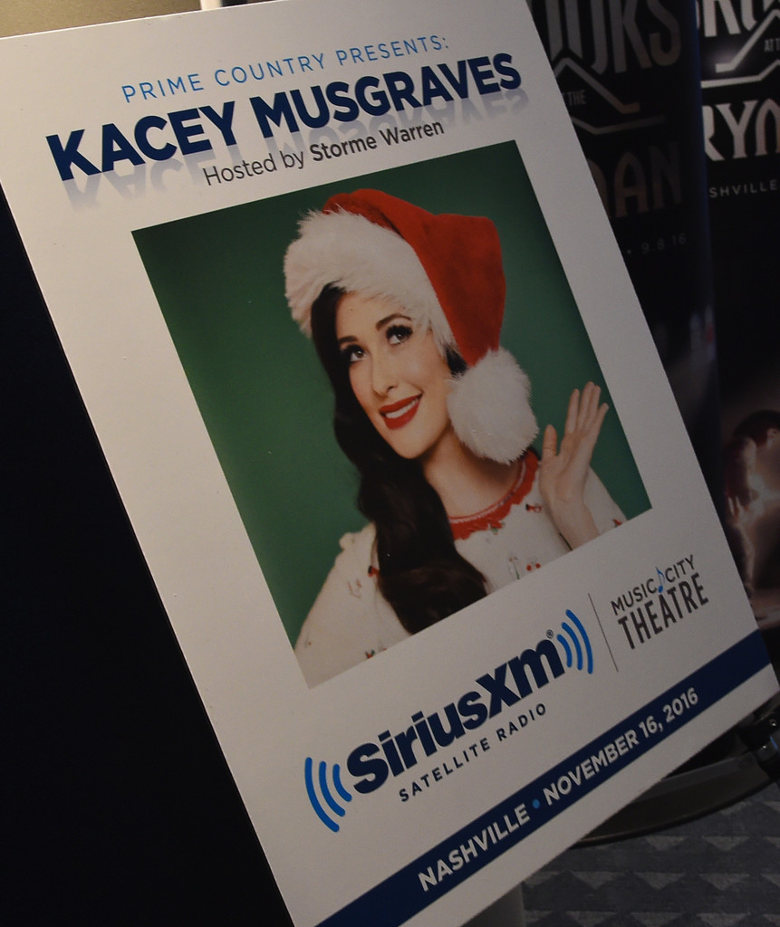 Kacey Musgraves in Kacey Musgraves Performs at the SiriusXM Studios ...