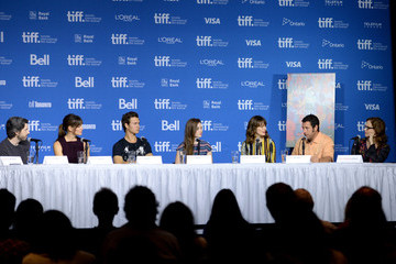 "Kaitlyn Dever Ansel Elgort ""Men, Women And Children"" Press Conference - 2014 Toronto International Film Festival"