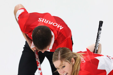 Kaitlyn Lawes Curling - Winter Olympics Day 2