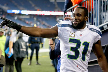 Kam Chancellor Seattle Seahawks v New England Patriots
