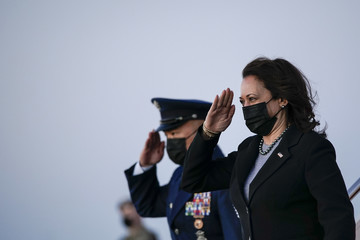 Kamala Harris European Best Pictures Of The Day - March 27