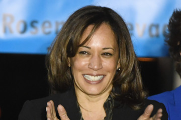 Kamala Harris Democratic Senate Candidate Jacky Rosen Holds Rally With Jimmy Kimmel And Sen. Kamala Harris
