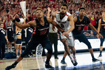 Kameron Edwards Pepperdine v Gonzaga