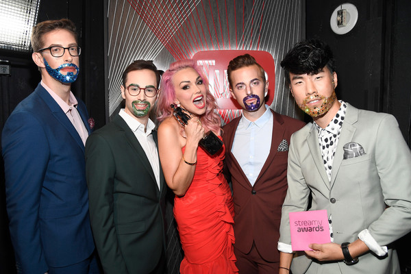 The 6th Annual Streamy Awards Hosted by King Bach and Live Streamed on YouTube - Inside