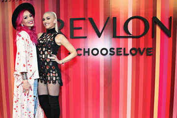 Kandee Johnson Revlon Global Brand Ambassador Gwen Stefani Hosts the Choose Love Valentine's Day Event in NYC