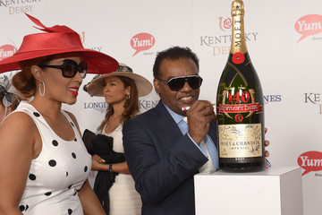 Kandy Johnson Isley Moet & Chandon Toasts The 140th Kentucky Derby