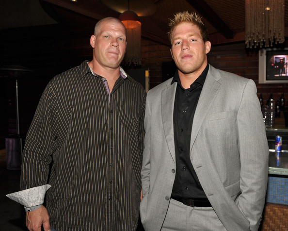 Undertaker And Kane In Real Life How exaggerated are wr...