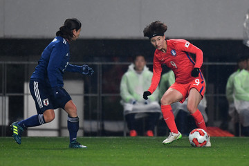 Kang Yumi Japan v South Korea - EAFF E-1 Women's Football Championship