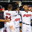 Michael Bourn and Michael Brantley Photos