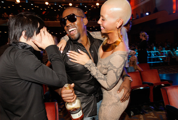 Kanye West And Amber Rose Photos Photos 2009 Mtv Video