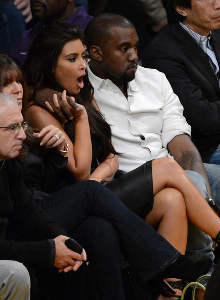 Kanye West - Denver Nuggets v Los Angeles Lakers - Game Seven