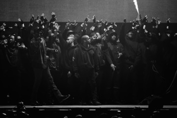Kanye West Alternative Views of the BRIT Awards