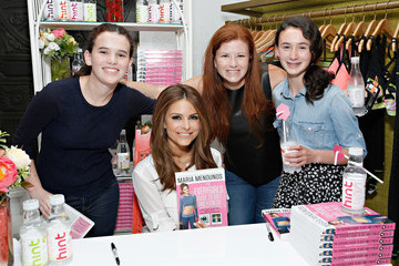 "Kara Goldin Hint Water Celebrates The Release of Maria Menounos' Book ""The Everygirl's Guide To Diet And Fitness"" At The Trina Turk Boutique In New York City"