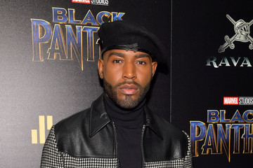 Karamo Brown The Cinema Society Hosts a Screening of Marvel Studios' 'Black Panther'