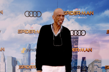 Kareem Abdul-Jabbar Premiere of Columbia Pictures' 'Spider-Man: Homecoming' - Arrivals