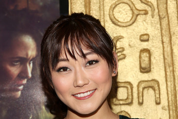 Karen Fukuhara Stray World Premiere