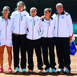 Karin Knapp Spain v Italy: Fed Cup World Group Play-off Round - Day One
