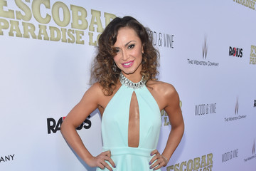 Karina Smirnoff Premiere of RADiUS and the Weinstein Company's 'Escobar: Paradise Lost' - Red Carpet