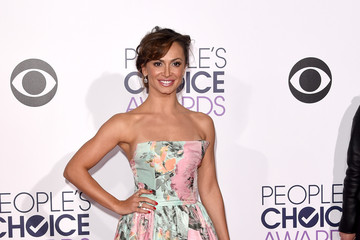 Karina Smirnoff Arrivals at the People's Choice Awards