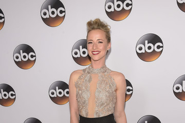 Karine Vanasse Disney & ABC Television Group's TCA Winter Press Tour - Arrivals