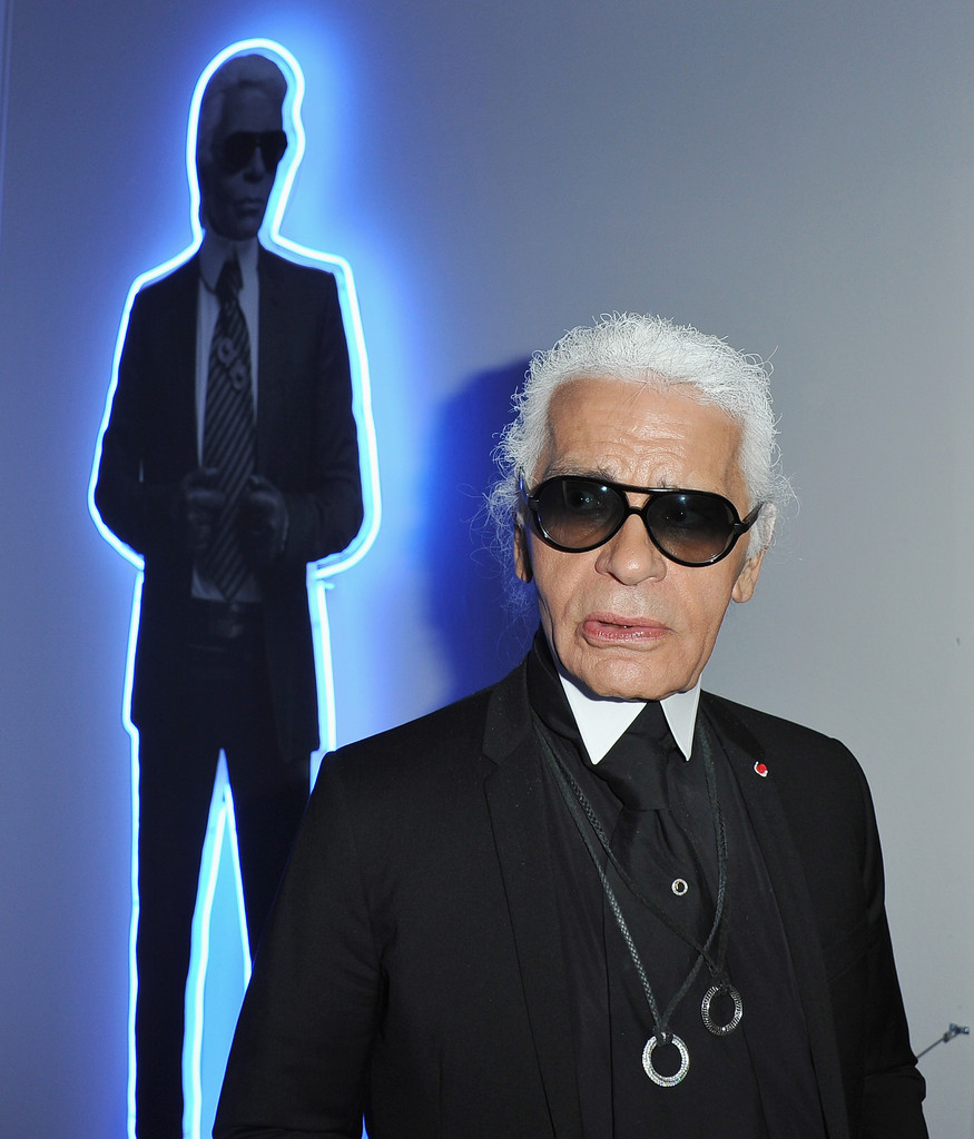 Karl lagerfeld photos photos karl lagerfeld exhibition launch at maison eur - Maison karl lagerfeld ...