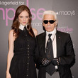 Karl Lagerfeld Visits Macy's Herald Square