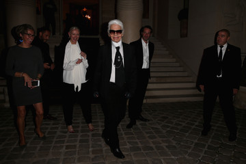 Karl Lagerfeld Der Berliner Mode Salon Arrivals - Paris Fashion Week Womenswear Spring/Summer 2016