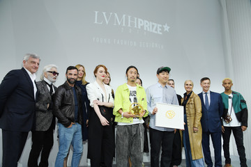 Karl Lagerfeld LVMH Prize 2018 Edition At Louis Vuitton Foundation In Paris
