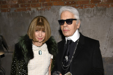 Karl Lagerfeld Chanel Dinner and Cocktails
