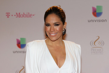 Karla Martinez Arrivals at the Premios Lo Nuestros Awards