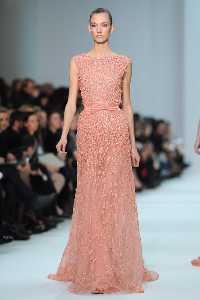 Karlie Kloss - Elie Saab: Runway - Paris Fashion Week Haute Couture S/S 2012