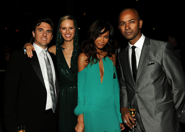 2011 CFDA Fashion Awards - After Party [suit,formal wear,event,fashion,tuxedo,fashion design,night,blazer,smile,performance,guest,archie drury,karolina kurkova,chanel iman,supper,l-r,lincoln center,new york city,party,cfda fashion awards]