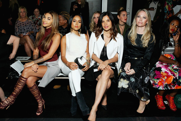 Thomas Wylde - Front Row - Spring 2016 New York Fashion Week: The Shows