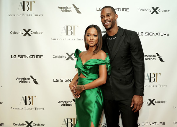 LG Signature At The American Ballet Theatre Fall Gala 2019 [event,formal wear,premiere,fashion design,dress,smile,suit,style,tuxedo,victor cruz,karrueche tran,lg signature,new york city,the american ballet theatre fall gala]
